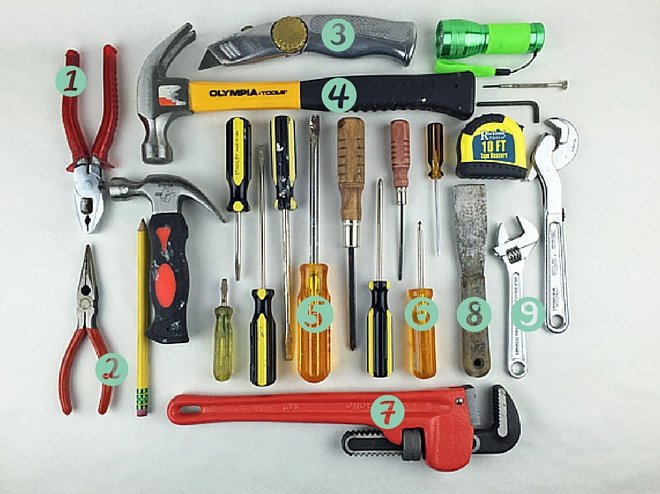 Nine hand tools that every do-it-yourselfer needs