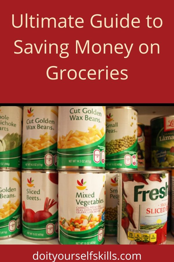 Store brand canned vegetables are a great way to save money on groceries