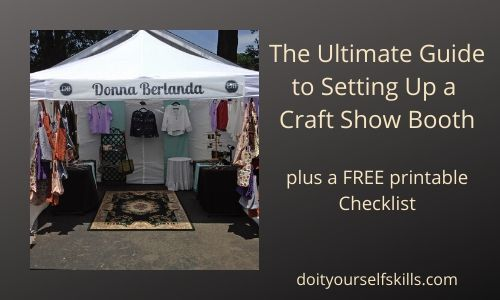Ultimate guide to setting up a craft show booth and a completely set-up booth