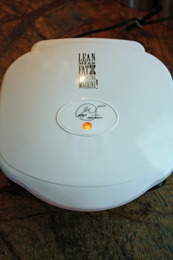 A George Foreman Lean Mean Grilling Machine