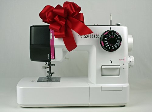 A Juki sewing machine